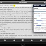 Voice Dream Reader Interface